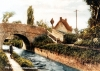 Bridge 8 - Deanshanger Postcard - Looking west