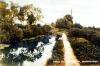 Postcard - Canal and Lift Bridge, Deanshanger
