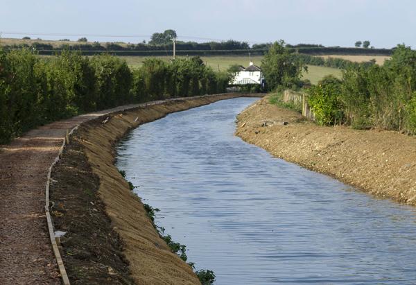 Bourton Meadow in water
