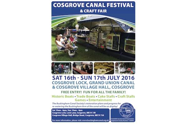 2016 Annual Cosgrove Canal Festival & Craft Fair