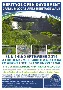 BCS Poster - Heritage Open Days Event 2014 - A4