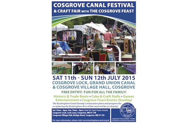 Cosgrove Canal Festival & Craft Fair with The Cosgrove Feast