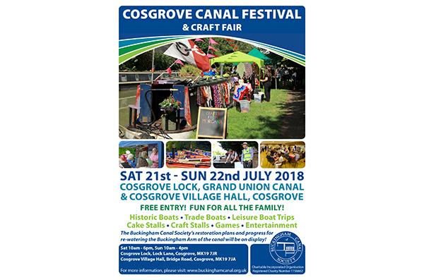 2018 Annual Cosgrove Canal Festival & Craft Fair